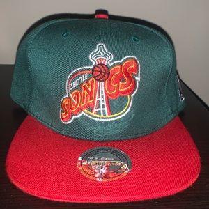 Seattle SuperSonics Mitchell & Ness Snapback